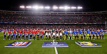 Atletico de Madrid's players and CF Rostov's players during a match of UEFA Champions League at Vicente Calderon Stadium in Madrid. November 01, Spain. 2016. (ALTERPHOTOS/BorjaB.Hojas)