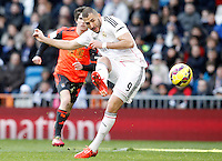 Real Madrid's Karim Benzema during La Liga match.January 31,2015. (ALTERPHOTOS/Acero) /NortePhoto<br />