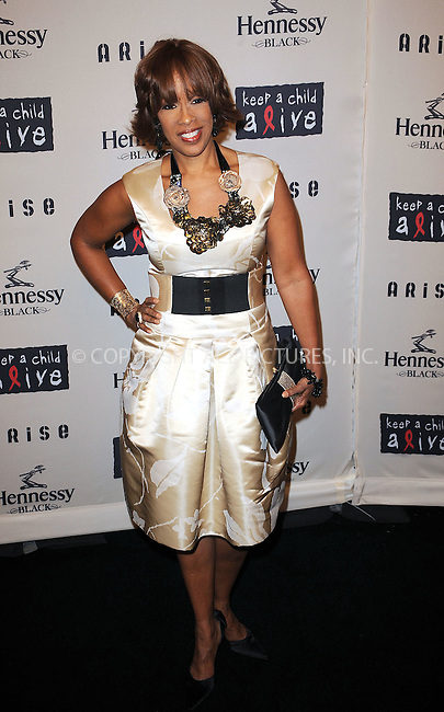 WWW.ACEPIXS.COM . . . . . ....October 15 2009, New York City....Gayle King arriving at th  'Keep A Child Alive's 6th Annual Black Ball'  hosted by Alicia Keys and Padma Lakshmi at Hammerstein Ballroom on October 15, 2009 in New York City.....Please byline: KRISTIN CALLAHAN - ACEPIXS.COM.. . . . . . ..Ace Pictures, Inc:  ..tel: (212) 243 8787 or (646) 769 0430..e-mail: info@acepixs.com..web: http://www.acepixs.com