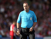 Referee Carl Boyeson<br /> <br /> Photographer Rich Linley/CameraSport<br /> <br /> The EFL Sky Bet League One - Lincoln City v Bristol Rovers - Saturday September 14th 2019 - Sincil Bank - Lincoln<br /> <br /> World Copyright © 2019 CameraSport. All rights reserved. 43 Linden Ave. Countesthorpe. Leicester. England. LE8 5PG - Tel: +44 (0) 116 277 4147 - admin@camerasport.com - www.camerasport.com