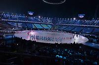 OLYMPIC GAMES: PYEONGCHANG: 09-02-2018, PyeongChang Olympic Stadium, Olympic Games, Opening Ceremony, Team Kazachstan, ©photo Martin de Jong