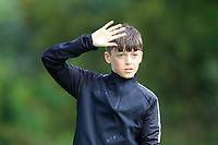Sean McCabe (Co.Sligo) on the 1st tee during the Connacht U12, U14, U16, U18 Close Finals 2019 in Mountbellew Golf Club, Mountbellew, Co. Galway on Monday 12th August 2019.<br /> <br /> Picture:  Thos Caffrey / www.golffile.ie<br /> <br /> All photos usage must carry mandatory copyright credit (© Golffile | Thos Caffrey)