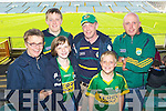 Pictured at the Clare v Kerry game in Limerick on Saturday evening, from left: Roisin Walsh, Donal Walsh, Aoife Walsh, Justin Walsh, Michael Walsh and Diarmuid Walsh..