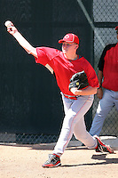 Patrick Quinn - Cincinnati Reds - 2010 Instructional League.Photo by:  Bill Mitchell/Four Seam Images..