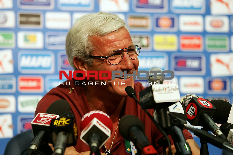 FIFA WM 2006 - Press Conference - Italy <br /> <br /> Marcello Lippi, italy coach , during by Press Conference at the ICC in Duisburg<br /> <br /> Foto &copy; nordphoto