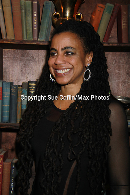 Suzan Lori Parks (playwright) in The Gershwins' Porgy and Bess on Opening Night - January 12, 1212 at the Richard Rogers Theatre, New York City, New York.  (Photo by Sue Coflin/Max Photos)