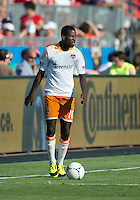 July 28, 2012: Houston Dynamo midfielder Je-Vaughn Watson #10 in action during a game between Toronto FC and the Houston Dynamo at BMO Field in Toronto, Ontario Canada..The Houston Dynamo won 2-0.