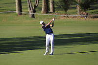 Robert Allenby (AUS) in action on the 11th during Round 2 of the ISPS Handa World Super 6 Perth at Lake Karrinyup Country Club on the Friday 9th February 2018.<br /> Picture:  Thos Caffrey / www.golffile.ie<br /> <br /> All photo usage must carry mandatory copyright credit (&copy; Golffile   Thos Caffrey)