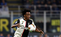 Calcio, Serie A: Inter Milano - Juventus, Giuseppe Meazza stadium, October 6 2019.<br /> Juventus' Juan Cuadrado in action during the Italian Serie A football match between Inter and Juventus at Giuseppe Meazza (San Siro) stadium, October 6, 2019.<br /> UPDATE IMAGES PRESS/Isabella Bonotto