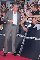 08.08.2012. Premier at the Callao Cinema in Madrid of the film &acute;The Expendables 2&acute;. Directed by Simon West and starring by  Bruce Willis, Jean-Claude Van Damme , Sylvester Stallone, Jason Statham, Jet Li, Dolph Lundgren, Randy Couture, Terry Crews and Liam Hemsworth. In the image Dolph Lundgren (Alterphotos/Marta Gonzalez) NortePhoto.com<br />