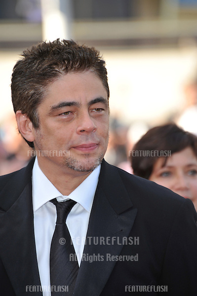 "Benicio Del Toro at the premiere of ""Beautiful"" in competition at the 63rd Festival de Cannes..May 17, 2010  Cannes, France.Picture: Paul Smith / Featureflash"