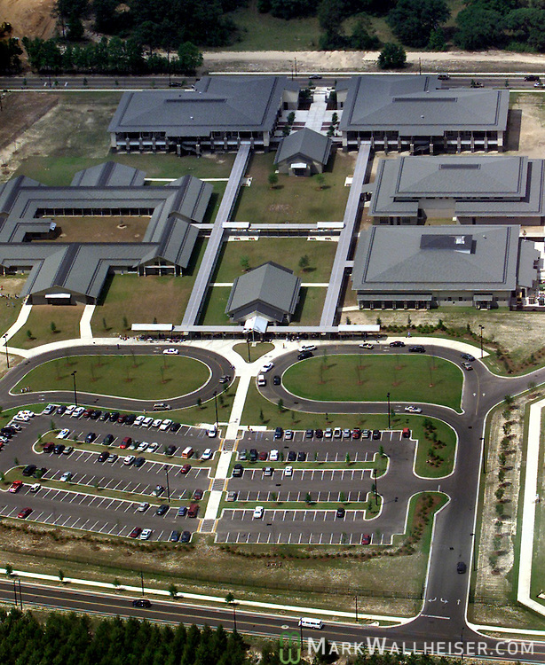 Aerial view of Florida High School in the Southwood subdivision in Tallahassee, Florida.   (Mark Wallheiser/TallahasseeStock.com)