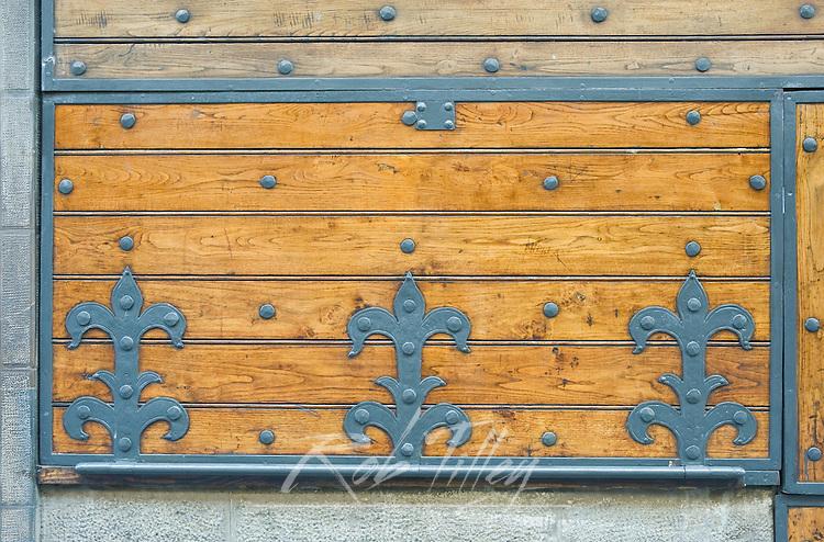 Europe, Italy, Tuscany, Florence, Ponte Vecchio Detail