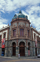 The Teatro Macedonio Alcala in the city of Oaxaca, Mexico