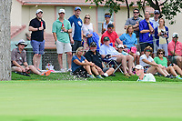 Sam Saunders (USA) hits from the trap on 14 during round 4 of the Dean &amp; Deluca Invitational, at The Colonial, Ft. Worth, Texas, USA. 5/28/2017.<br /> Picture: Golffile | Ken Murray<br /> <br /> <br /> All photo usage must carry mandatory copyright credit (&copy; Golffile | Ken Murray)