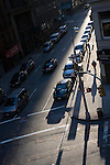 Early morning light on 27th street, New York City, USA