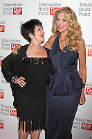 Chita Rivera and Christie Brinkley attend The Dramatists Guild Fun's 50th Anniversary Gala at the Mandarin Oriental in New York, 03.06.2012...Credit: Rolf Mueller/face to face /MediaPunch Inc. ***FOR USA ONLY***