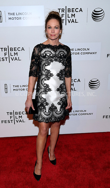 WWW.ACEPIXS.COM<br /> <br /> April 20 2014, New York City<br /> <br /> Diane Lane arriving at the premiere of 'Every Secret Thing' during the 2014 Tribeca Film Festival at BMCC Tribeca PAC on April 20, 2014 in New York City. <br /> <br /> By Line: AO Images/ACE Pictures<br /> <br /> <br /> ACE Pictures, Inc.<br /> tel: 646 769 0430<br /> Email: info@acepixs.com<br /> www.acepixs.com