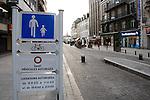 20080108 - France - Aquitaine - Pau<br /> TOUT LE CENTRE-VILLE DE PAU EST INTERDIT AUX VOITURES : SEULS PASSENT LES BUS, NAVETTES GRATUITES, VELOS ET PIETONS.<br /> Ref : CENTRE_PIETONNIER_002.jpg - © Philippe Noisette.