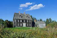 The Olsen House, Cushing, Maine, USA. Made famous by painter Andrew Wyeth
