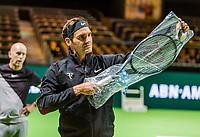 Rotterdam, Netherlands, 11 februari, 2018, Ahoy, Tennis, ABNAMROWTT, Arival of Roger Federer<br /> Photo: Henk Koster/tennisimages.com