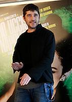 """L'attore Libero De Rienzo posa durante un photocall per la presentazione del film """"Ho ucciso Napoleone"""", a Roma, 24 marzo 2015<br /> Italian actor Libero De Rienzo poses during a photocall for the presentation of the movie """"Ho ucciso Napoleone"""" in Rome, 24 March 2015.<br /> UPDATE IMAGES PRESS/Isabella Bonotto"""