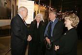 Nobel Peace Prize winner Elie Wiesel and his wife Marion Wiesel talk with United States Vice President Dick Cheney and his wife Lynne Cheney during a reception for holocaust survivors at the Galicia Jewish Museum in Krakow, Poland, January 26, 2005. The Wiesel's, holocaust survivors themselves, were a part of an United States delegation to Poland, led by Vice President Cheney to take part in ceremonies commemorating the 60th Anniversary of the liberation of the Auschwitz camps. <br /> Mandatory Credit: David Bohrer / White House via CNP