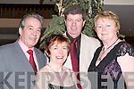 EVE: Having a good time at the Earl of Desmond New Years Eve party were: Vincent Murphy, Joan and Kevin Cunningham and Breda Murphy (Tralee)..