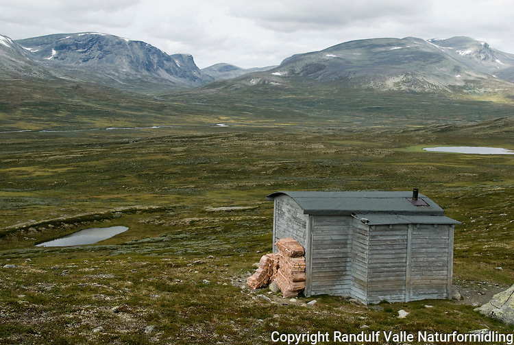 Skardbua i Grøndalen ---- Hut in Grøndalen