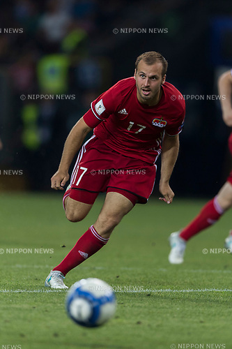 Robin Gubser (LIE), JUNE 11, 2017 - Football / Soccer : FIFA World Cup Russia 2018 European Qualifier Group G match between Italy 5-0 Liechtenstein at Dacia Arena in Udine, Italy. (Photo by Maurizio Borsari/AFLO)