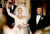 Donald Trump & Marla Maples Wedding 1993 NYC<br />