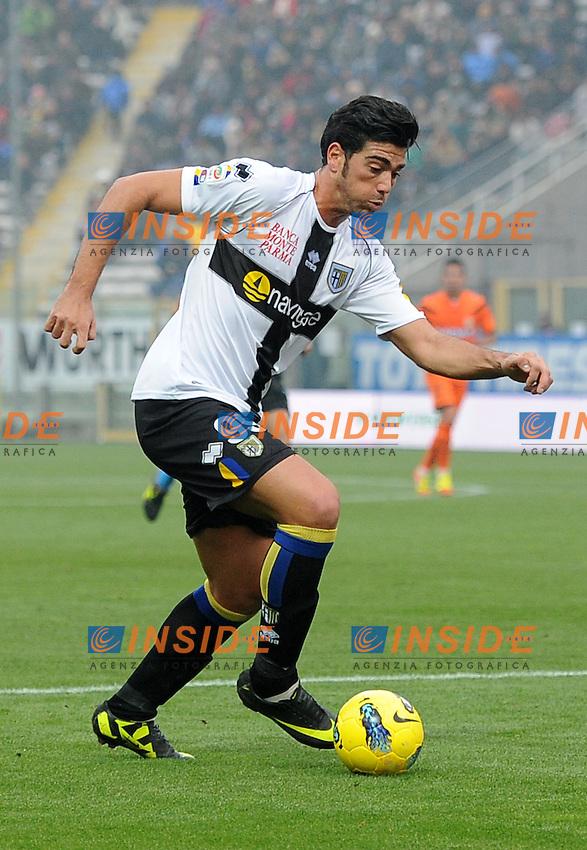 "Graziano PELLE (Parma).Parma 20/11/2011 Stadio ""Ennio Tardini"".Serie A 2011/2012.Football Calcio Parma Vs Udinese.Foto Insidefoto Alessandro Sabattini."