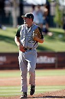 Kevin Castner of Cal Poly playing against Oral Roberts University in the Tempe Regionals at Packard Stadium, Tempe, AZ - 05/29/2009.Photo by:  Bill Mitchell/Four Seam Images