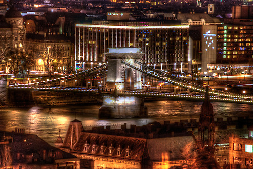 A night soot in Budapest