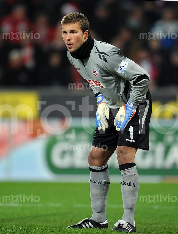FUSSBALL   1. BUNDESLIGA   SAISON 2010/2010   19. Spieltag 1. FC Koeln - SV Werder Bremen                              22.01.2011 Torwart Michael RENSING (1. FC Koeln)