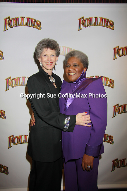 Opening Night -  Terri White stars in Follies, a James Goldman & Stephen Sondheim's classic musical on September 12, 2011 at the Marquis Theatre, New York City, New York. (Photo by Sue Coflin/Max Photos