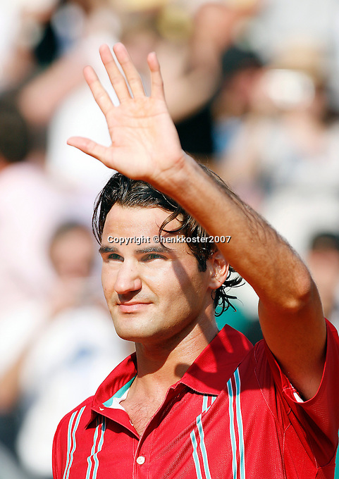 17-4-07, Monaco,Master Series Monte Carlo, Federer