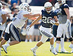 Shumway, Rickey 17FTB Prac 8-17 642<br /> <br /> 17FTB Prac 8-17<br /> <br /> BYU Football Fall Camp<br /> <br /> August 17, 2017<br /> <br /> Photo by Jaren Wilkey/BYU<br /> <br /> &copy; BYU PHOTO 2017<br /> All Rights Reserved<br /> photo@byu.edu  (801)422-7322