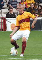 Nicky Law in the Motherwell v Everton friendly match at Fir Park, Motherwell on 21.7.12 for Steven Hammell's Testimonial.