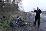 Rubbish dumped Donore jan 2011