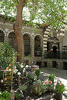 Old Armenian courtyard house in the old quarter of Diyarbakir, southeastern Turkey