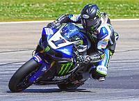 Race winner Josh Hayes in action, AMA Superbike Race, Road ATlanta, Braselton, GA .  (Photo by Brian Cleary/ www.bcpix.com )