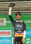 6th September 2017, Mansfield, England; OVO Energy Tour of Britain Cycling; Stage 4, Mansfield to Newark-On-Trent;  Elia Viviani (Team Sky) also picks up the Wiggle Points jersey,