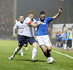 Jason Thomson gets physical with Lee Wallace