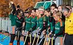 TILBURG  - hockey-   line up Were Di voor  de wedstrijd Were Di-MOP (1-1) in de promotieklasse hockey dames. COPYRIGHT KOEN SUYK