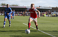 Fleetwood Town's Kyle Dempsey fails to keep the ball in play<br /> <br /> Photographer Stephen White/CameraSport<br /> <br /> The EFL Sky Bet League One - Fleetwood Town v Oldham Athletic - Saturday 9th September 2017 - Highbury Stadium - Fleetwood<br /> <br /> World Copyright &copy; 2017 CameraSport. All rights reserved. 43 Linden Ave. Countesthorpe. Leicester. England. LE8 5PG - Tel: +44 (0) 116 277 4147 - admin@camerasport.com - www.camerasport.com