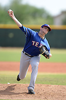 Texas Rangers pitcher David Gates (88) during an Instructional League game against the NC Dinos on October 9, 2013 at Surprise Stadium Training Complex in Surprise, Arizona.  (Mike Janes/Four Seam Images)