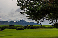 A view of Croagh Patrick from the 1st during the Preview of the AIG Cups & Shields Connacht Finals 2019 in Wesport Golf Club, Westport, Co. Mayo on Thursday 8th August 2019.<br />