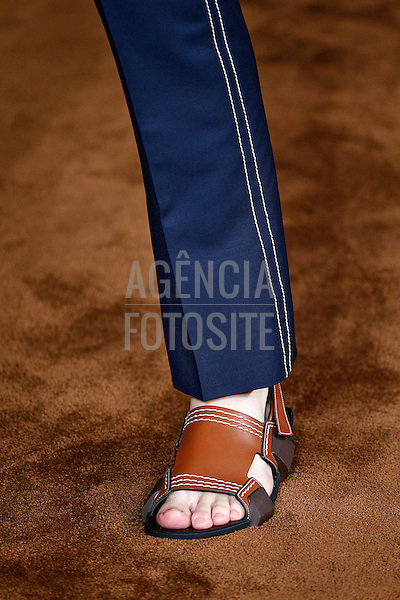 MIlao, Italia &ndash; 06/2014 - Desfile de Prada durante a Semana de moda masculina de Milao - Verao 2015. <br /> Foto: FOTOSITE