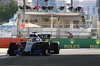 29th November 2019; Yas Marina Circuit, Abu Dhabi, United Arab Emirates; Formula 1 Abu Dhabi Grand Prix, practice day; ROKiT Williams Racing, George Russell - Editorial Use